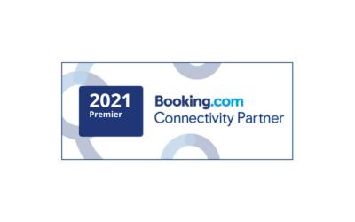 2021 PREMIER CONNECTIVITY PARTNER oF BOOKING.COM